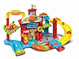 Vtech Toddler Interactive and Educational Toy for Children with Music and Light For Kids Boys & Girls 503903 Toot Drivers Refresh Fire Station, Multicolour