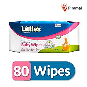 Little's Soft Cleansing Baby Wipes (80 Count)