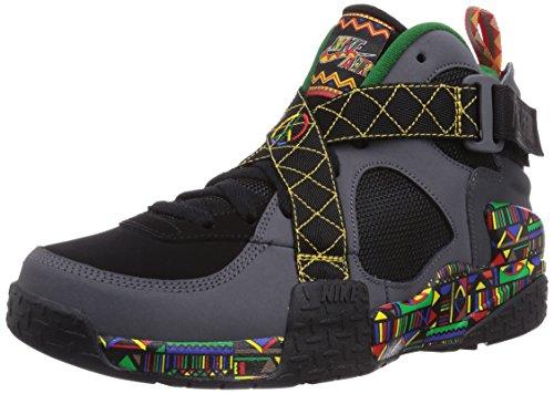 Nike Air Raid, Baskets mode homme Black / Dark Grey / Pine Green