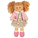 Enlarge toy image: Bigjigs Toys Poppy Doll 28cm (11) - Ragdoll Cuddly Toy