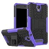 ZTE Blade L5 Plus Case, Hybrid Armor Design Detachable and