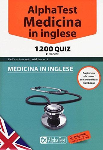 Libro alpha test medicina odontoiatria veterinaria kit for Test di medicina simulazione