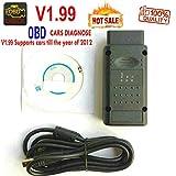 OBD V1.99 OBDII Diagnosegerät OBD2 Interface Code Reader für Opel Cars -HR-Tool®
