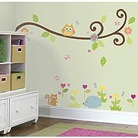 RoomMates RMK1861SCS - Pegatinas para pared con diseño de rama de árbol