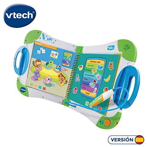 VTech-80-602122 Magibook, Color Verde, única (80-602122)