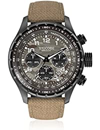 Timecode Reloj de cuarzo Man Tc-1011-16 Marrón 49 mm