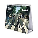 Grupo Erik Editores   Calendario Sobremesa Deluxe 2018 The Beatles