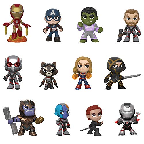 Funko 37200 Mystery Mini Blind Box: Avengers Endgame: Styles Will Vary Sammelfiguren, Multi