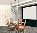 #9: Cozyhomz Dining table set 6 seater tempered glass top, High back chair with fabric upholstered seating - Vifi