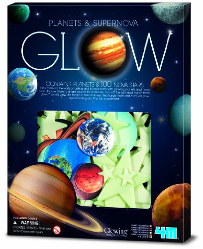 4M- Super Nova with Planets: In Box Ciencia, 100 Piezas...