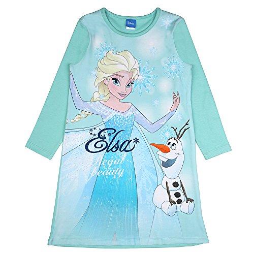 Disney Niñas El Reino de Hielo, Frozen Camisón, Azul