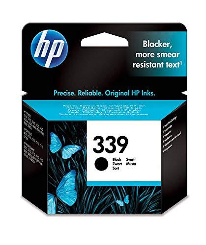 HP 339 Original Druckerpatrone (für HP Deskjet, HP Officejet, HP Photosmart) schwarz