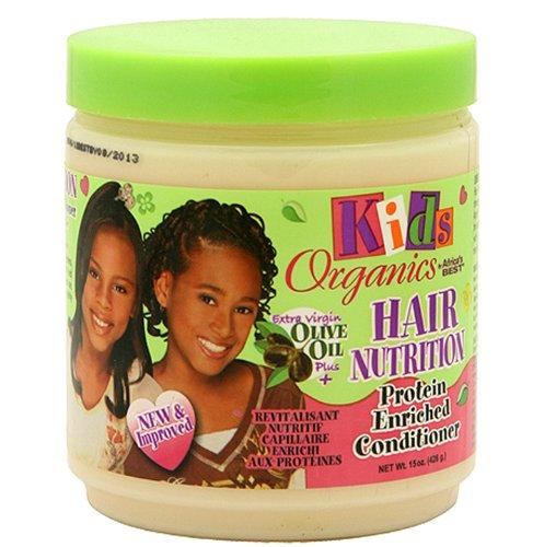 Africa's Best Kids Organische Haarspülung mit Eiweiß angereichert 445 ml -