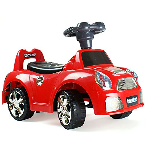 bopster Ride On Sports Car 12-36 months - Mini Red