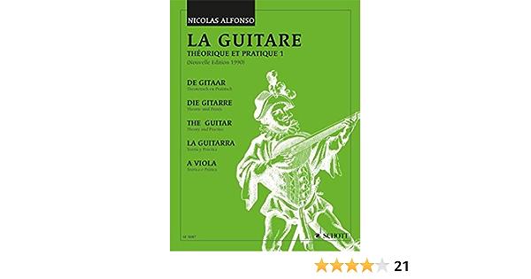 La Guitare Theorique Et Pratique 1 Vol 1 Gitarre Amazon De Alfonso Nicolas Bucher