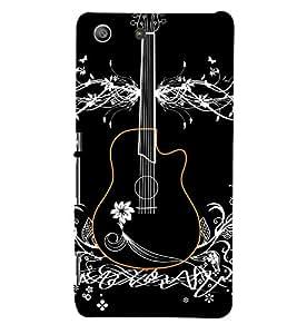 FUSON 3D Designer Back Case Cover foR Sony Xperia M5 D9962