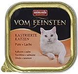 Animonda Vom Feinsten kastrierte Katzen Nassfutter, für ausgewachsene Katzen, 32 x 100 g