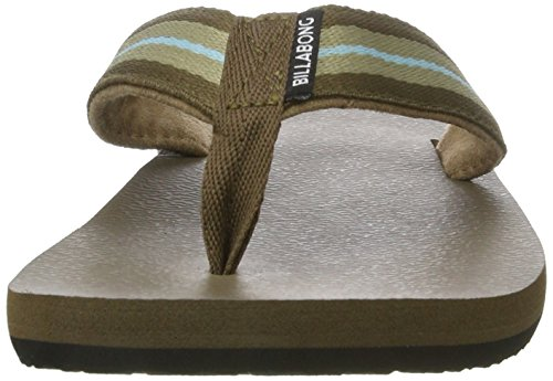 G.S.M. Europe - Billabong - Cut It Woven, Scarpe da Spiaggia e Piscina Uomo marrone (cioccolato)
