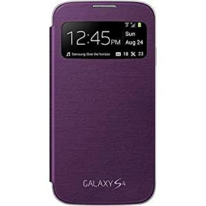 Samsung Galaxy S-View Clip-On Case Cover for Samsung Galaxy S4 - Sirius Purple