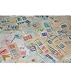 Goldhahn Alt-Kiloware 100 Gramm Briefmarken für Sammler