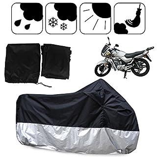 Ambienceo Universal Motorrad Abdeckung ATV Quad Bike Cover Faltbare Wasserdicht Resistent UV Schutz 190T Polyester