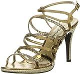 Vista Damen Sandaletten bronze, Größe:38;Farbe:Bronze