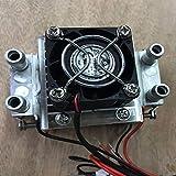 Jiobapiongxin 1 PC DIY 120w Tec Peltier Semiconductor Frigorifero Refrigeratore d'Acqua Meccanismo di condizionamento d'Aria per Raffreddamento e Ventilatore JBP-X