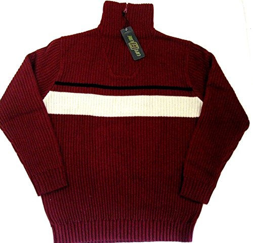 Preisvergleich Produktbild Kilkenny PULLOVER LIFE LINE 30% Wolle oxblood red S 48