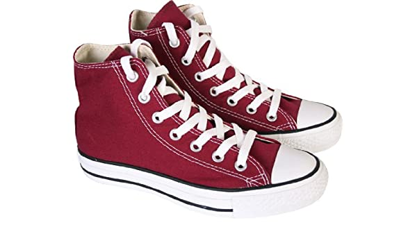 f6e021148643 Converse Maroon Chuck Taylor All Star High Top Womens Canvas Trainers (UK  6)  Amazon.co.uk  Shoes   Bags