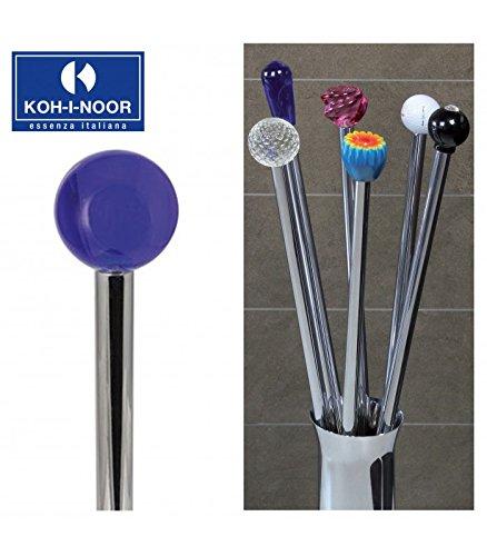 Koh-I-Noor 57170 Porta Scopino Frac Pomolo in Cristallo, 77 cm