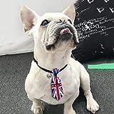 T.boys Hunde Katze Tier Flagge Krawatte Haustier Verstellbare Krawatte Haustier Dekoration Kragen für kleine, mittelgroße und große Hunde, Hundezubehör.