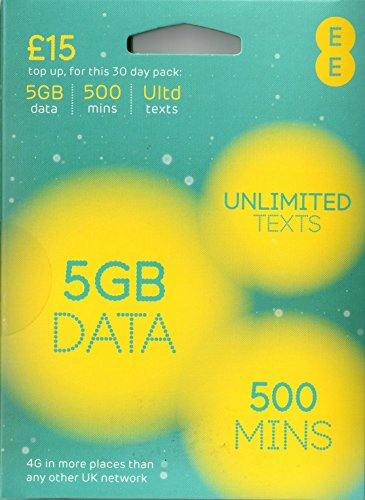 BRAND NEW EE 4G LTE PAYG NANO DATA SIM CARD - PAY AS YOU GO - WORKS IN ANY DEVICE WHICH TAKES A NANO SIM CARD