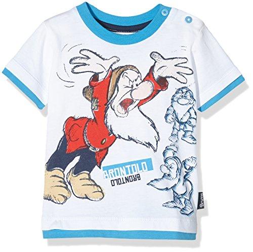 BRUMS Baby - Jungen Schlafanzugoberteile T-Shirt Jersey 7 Nani , weiß (optical white 01), größe 6M
