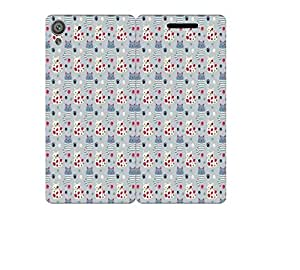 Techno Gadgets Flip Cover for Huawei Honor Holly 3