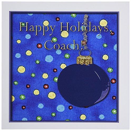 ußkarten, Motiv: Hockey Thank You Coach, 15,2 x 15,2 cm, 6 Stück ()