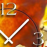 Feuerwehr Designer Wanduhr modernes Wanduhren Design leise kein ticken dixtime 3DS-0062 Test