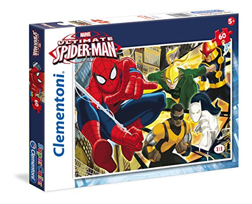 Clementoni 26887 - Puzzle Ultimate Spiderman, 60 Pezzi