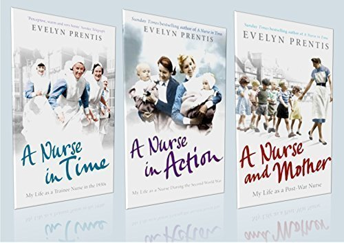 The Nurses in Time Box Set - Evelyn Prentis Collection (Brand New, Sealed Box) 3 Book Set : 1) A Nurse in Time 2) A Nurse in Action 3) A Nurse and Mother (RRP: £20.97)