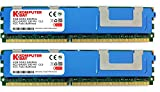 Komputerbay 8GB (2X4GB) DDR2 PC2-6400F 800MHz ECC Fully Buffered FB-DIMM (240 PIN) 8GB w / Heatspreader