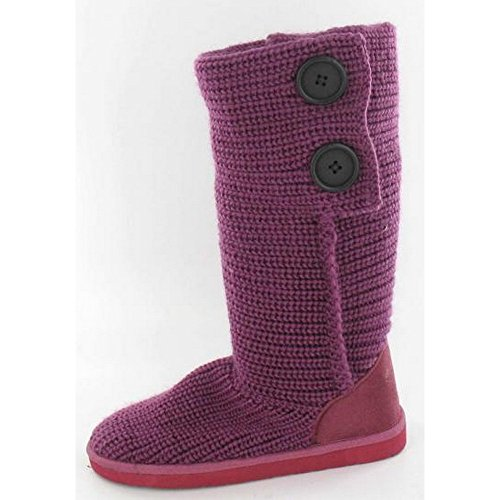 Spot On - Bottes en tricot - Fille Rose