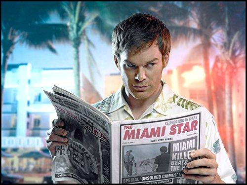 Dexter-Season-1-Poster-On-Silk-80cm-x-60cm-32inch-x-24inch-Cartel-de-Seda-EBA332