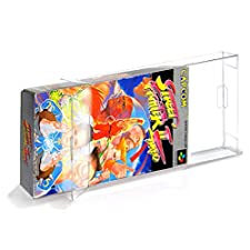 20 GAME BOX PROTECTOR for SUPER FAMICOM [20 x 0,3MM SUPER FAMICOM CIB] Perfect snug Fit / Crystal Clear