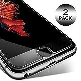 Verre Trempé iPhone 7,8, 6s,6, [Lot de 2] KETTRE Film Protection d'écran en verre trempé ultra-résistant [0.33 mm Anti-rayure Anti-traces de doigts] ** Facile d'installation ** Pour iPhone 7,8,6s,6