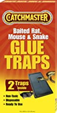 4 Pack Catchmaster 402 Baited Rat Mouse and Snake Glue Traps Professional Stgth 4 Pack