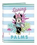 """Minnie Mouse""""Palms"""" officielle fichier officielle avec feuilles 4Anneaux 265x 330mm"""