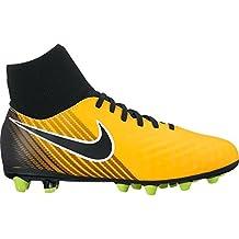 Nike JR MAGISTA ONDA II DF AGPRO - Zapatillas de fútbol, Unisex infantil, Naranja