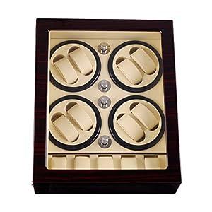 JIANBO Automatische uhrenbeweger 8+5 Watch Winder Uhrenbeweger Uhrwickelgehäuse Automatische Mechanische Uhr Automatische Wickelmaschine Lagerung, 03