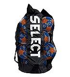 Select Handballsack mit Harzfach groß (14-16 Handbälle) - schwarz