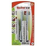 Fischer Universaldübel UX SK SBKarte, 2 Stück, 12 x 70 mm, 77858