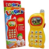 Lalli Sales Learning Mobile Phone Toy For Kids With Image Projection, Multi Color